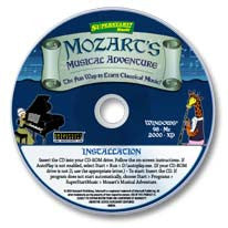 Mozart's Musical Adventure CD-ROM