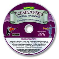 Tchaikovsky's Musical Adventure CD-ROM