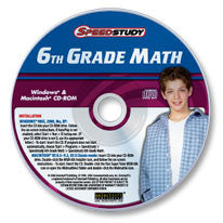 6th Grade Math CD-ROM