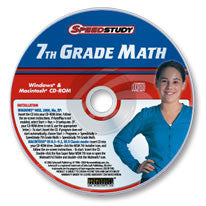 7th Grade Math CD-ROM