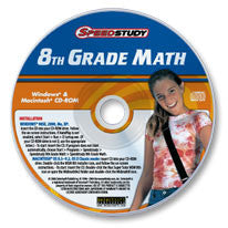 8th Grade Math CD-ROM
