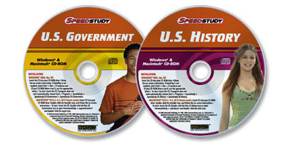 2 CD-ROM set (U.S. History /U.S. Government)