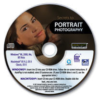 Secrets to Portrait Photography CD-ROM