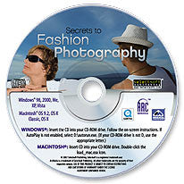 Secrets to Fashion Photography CD-ROM