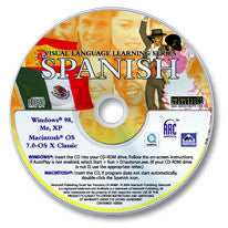 Visual Language Learning: Spanish CD-ROM