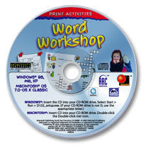 Print Activities Word Workshop CD-ROM