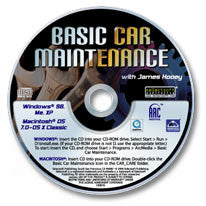 Basic Car Maintenance CD-ROM