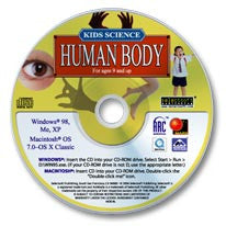 Kids Science - Human Body CD-ROM