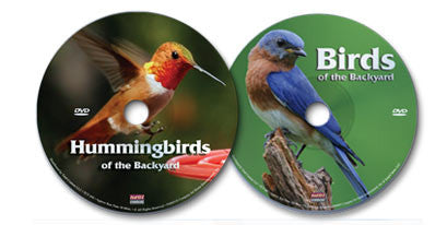 2 DVD Set (Birds of the Backyard /Hummingbirds of the Backyard)