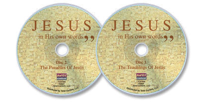 Jesus in His Own Words 2 Audio CD Set