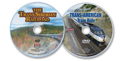 2 DVD Set (The Trans-Siberian Railroad / The Great Trans-American Train Ride)