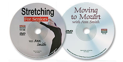 2 DVD Set (Moving to Mozart / Stretching for Seniors)