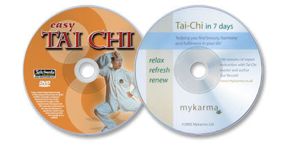 2 DVD Set (Tai Chi in 7 Days /Easy Tai Chi)