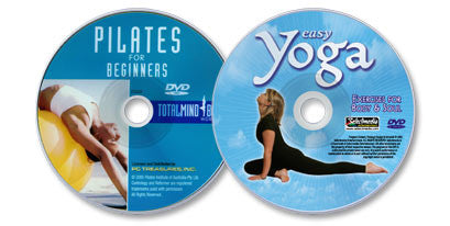 2 DVD Set (Easy Yoga/Pilates for Beginners)