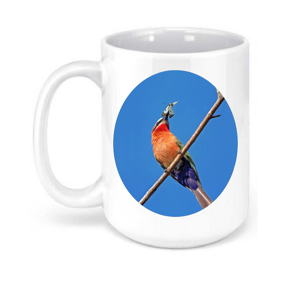 15oz. Bee Eater Bird Mug