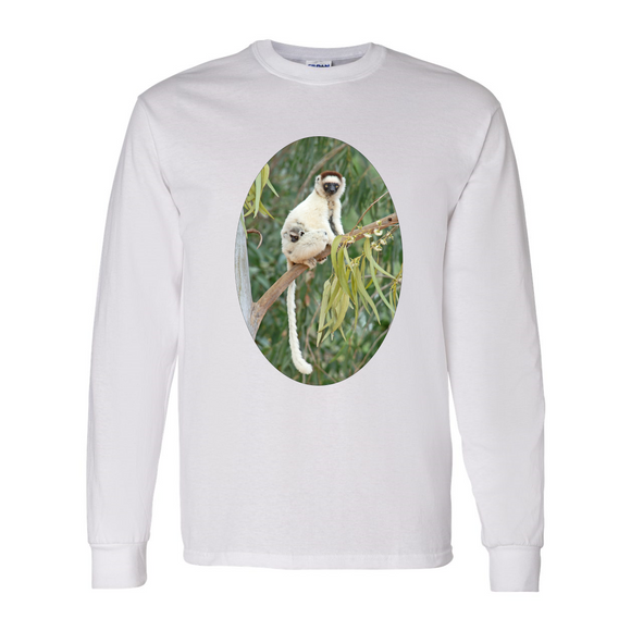 Long Sleeve Lemur Baby Shirt