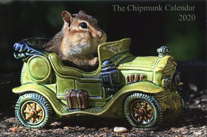 The Chipmunk Calendar 2020 - 2 for $8