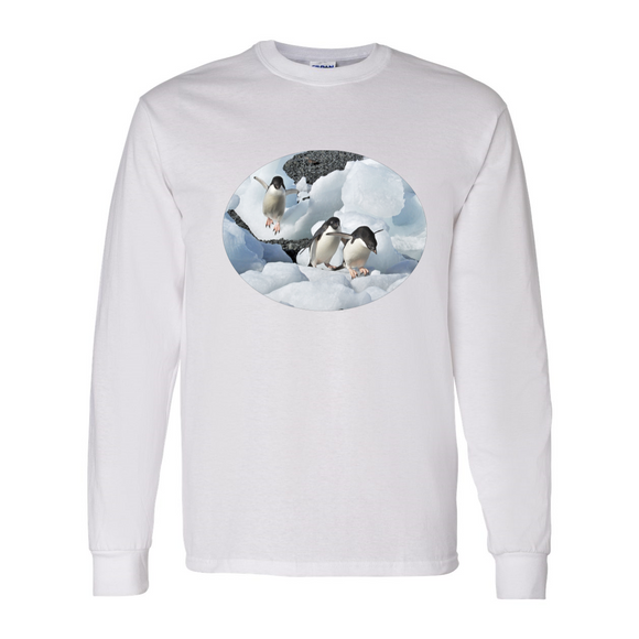 Long Sleeve 3-Penguins Shirt