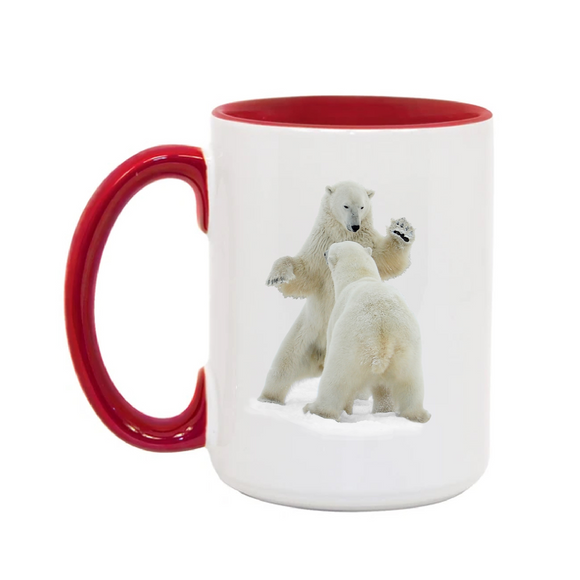 15oz. Mug Polar Bears Spar2