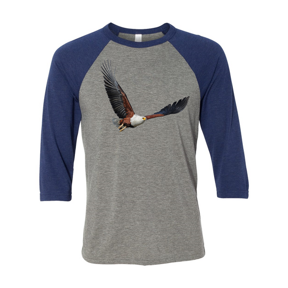 Unisex 3/4 Sleeve Eagle