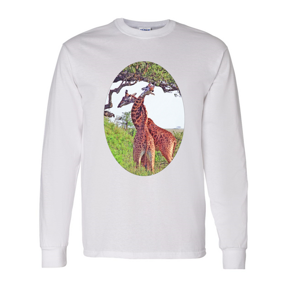 Long Sleeve Giraffe Shirt