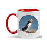 11oz. Mug Puffin w/Fish
