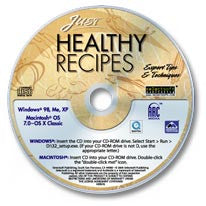 Just Healthy Recipes CD-ROM