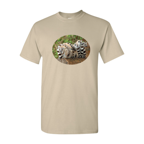Ring-Tailed Lemurs T-Shirt