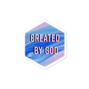 Sticker Created by God
