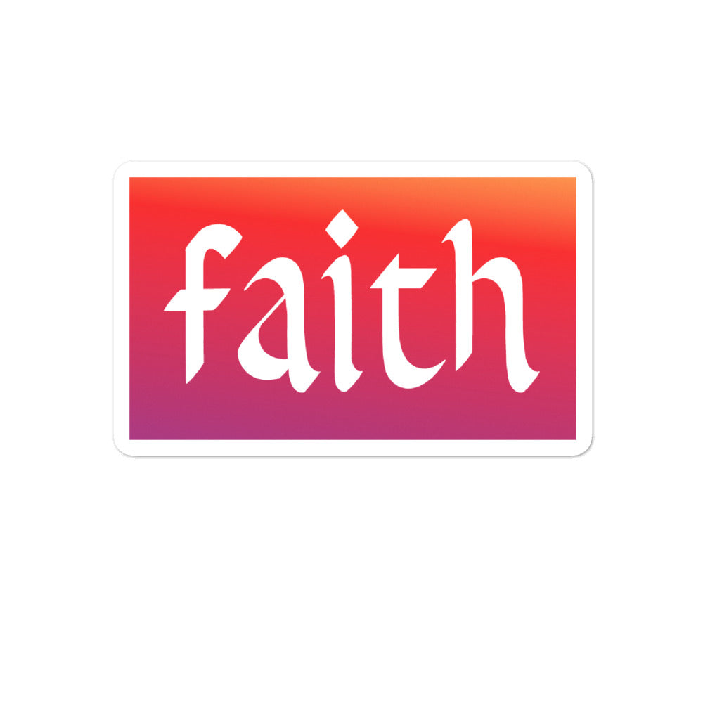 Sticker FAITH