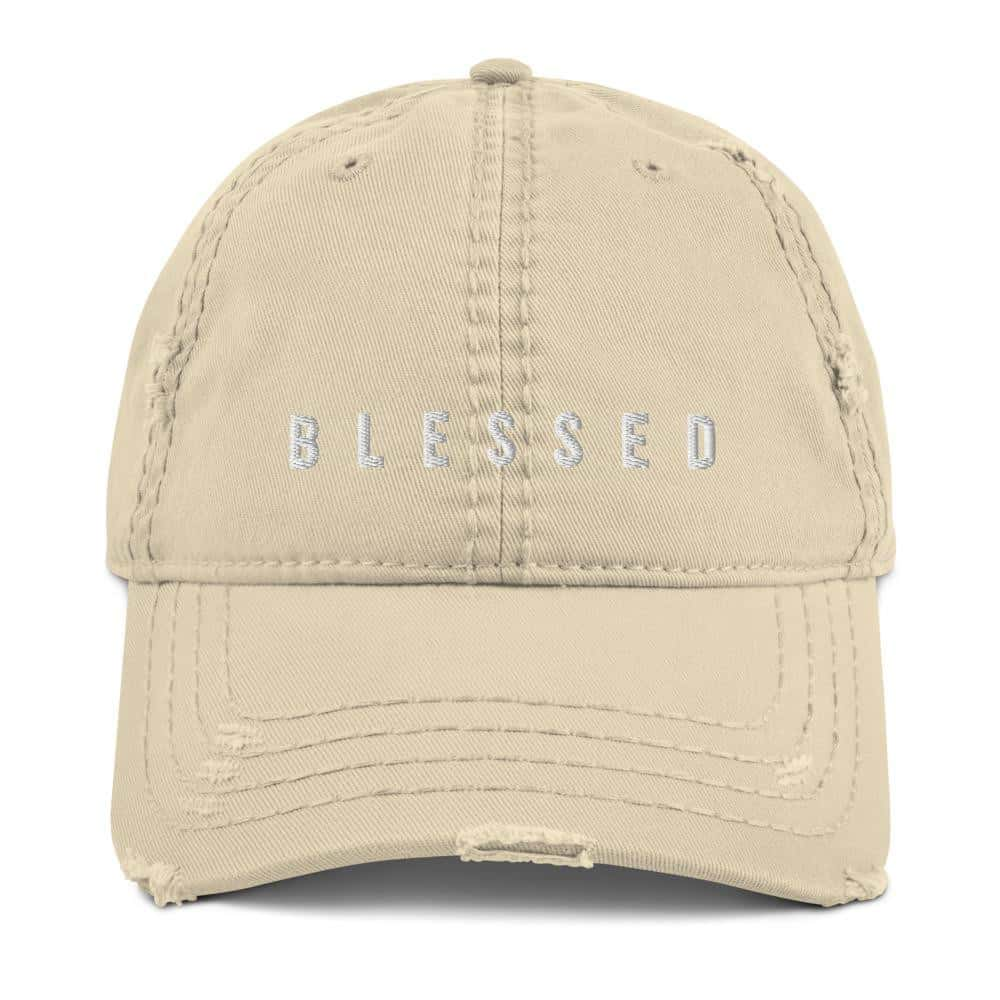 Casquette BLESSED - Logo brodé