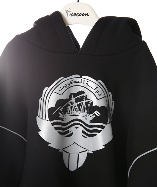 HOODIES WITH SCARF بلوزة وسكارف