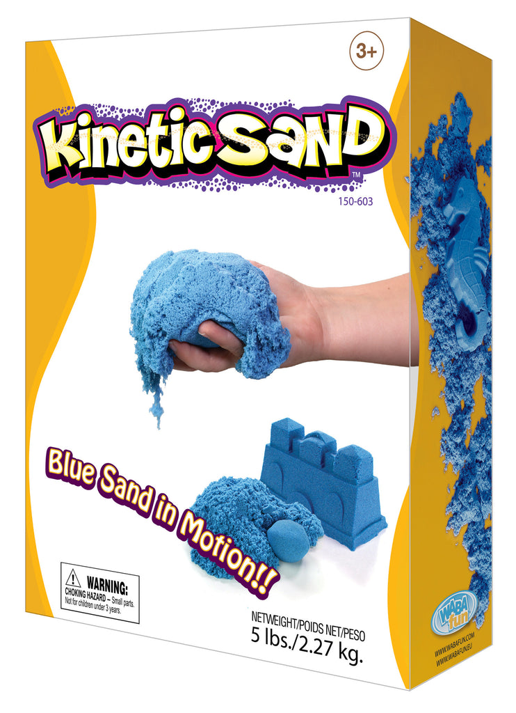 Kinetic Sand Colour - 2.27kg Blue