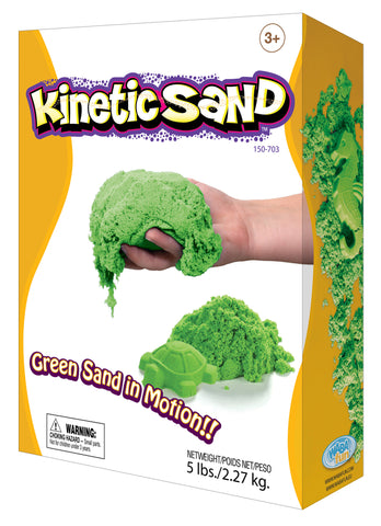 Kinetic Sand Colour - 2.27kg Green - Currently Out Of Stock