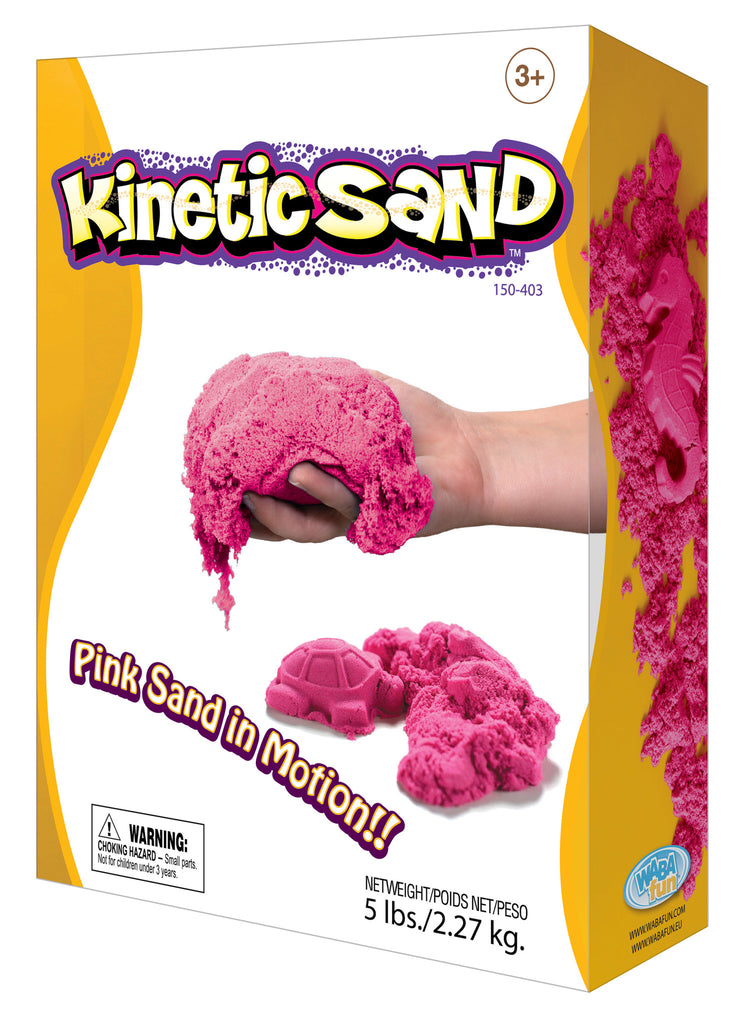 Kinetic Sand Colour - 2.27kg Pink