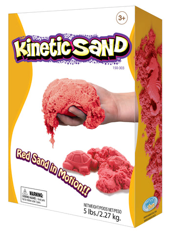 Kinetic Sand Colour - 2.27kg Red