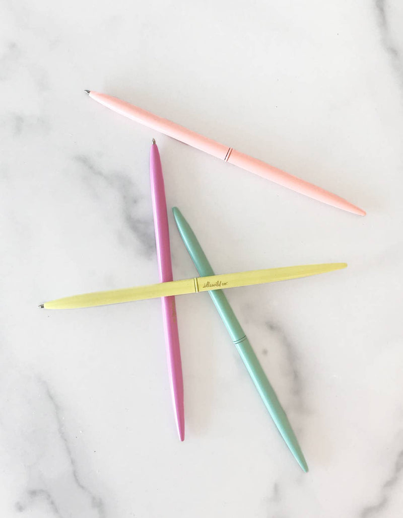 Pastel Brights Slim Pen Collection