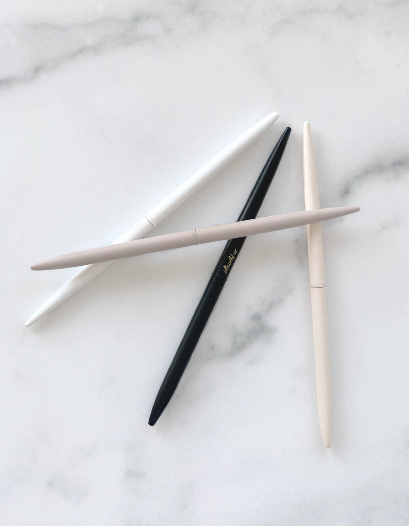 Neutral Matte Slim Pen Collection