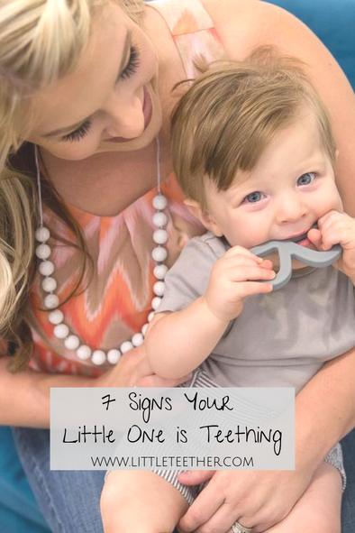 7 Signs Your Little One is Teething