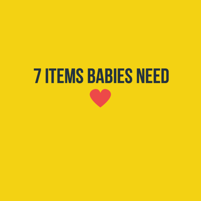 7 Things All Babies Need