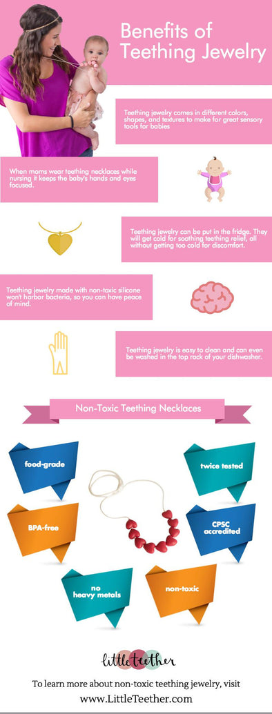 Benefits of Teething Jewelry [infographic]