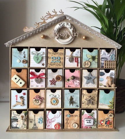 home made advent calendar