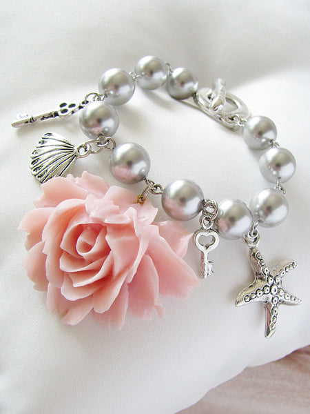 sea princess charm bracelet