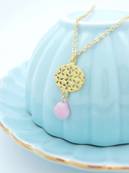 petal ovals necklace