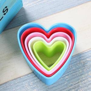 1 set Cookies Biscuits Desserts  Cutters Molds Hearts Stars Round Square Tree