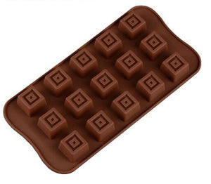 LOLO Chocolate Molds Food Silicone 3D Gummy Chocolate