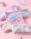 Unicorn Glitter Stationery Pouch