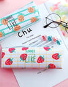 Kawaii Colorful Fruit Style Pencil Cases