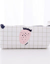 Pomegranate And Strawberry Stationery Pouch