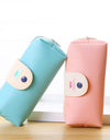 Cute Pencil Case With Snap Button